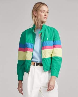 Ralph Lauren Poplin Windbreaker Jacket