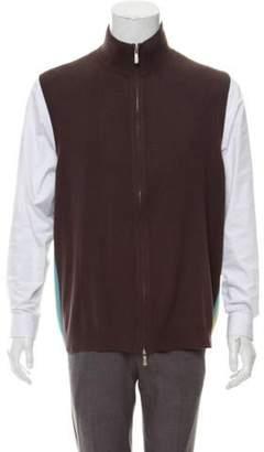 Malo Cashmere Sweater Vest brown Cashmere Sweater Vest