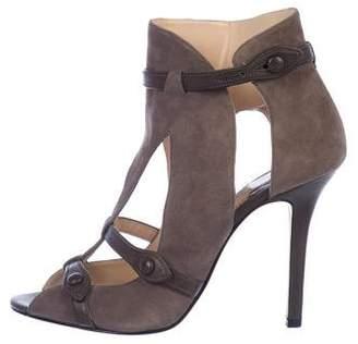 Camilla Skovgaard Suede Cutout Ankle Boots