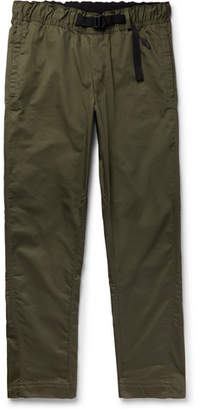 Nike Cotton-Blend Twill Trousers