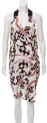 Zero Maria Cornejo Printed Midi Dress