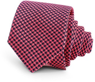Thomas Pink Coniston Houndstooth Check Skinny Tie $135 thestylecure.com