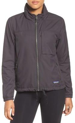 Women's Patagonia Mountain View Windbreaker Jacket $169 thestylecure.com