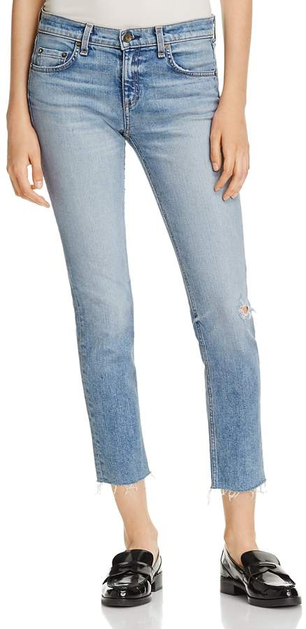 Ankle Dre Straight Jeans in Alphaville