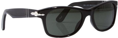 PO2953S 53 Classics Sunglasses in 95/4N Shiny Black - by Persol