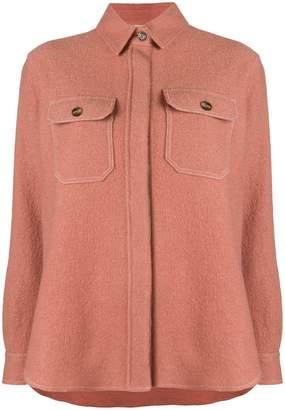 Closed knit jacket