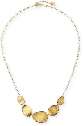 Marco Bicego 18k Gold Stone Bib Necklace