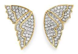 Bloomingdale's Diamond Butterfly Wing Stud Earrings in 14K Yellow Gold, 0.50 ct. t.w. - 100% Exclusive