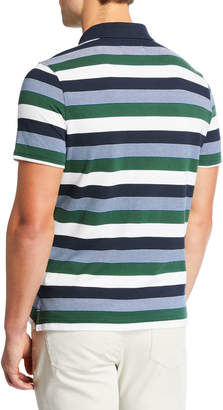 Original Penguin Men's Striped Short-Sleeve Polo Shirt