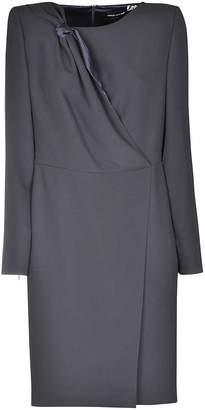 Armani Collezioni Armani Knot Detail Dress