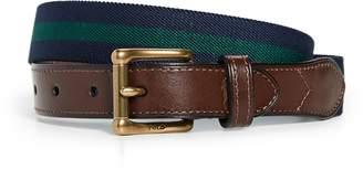 Polo Ralph Lauren Striped Casual Elastic Webbing Belt