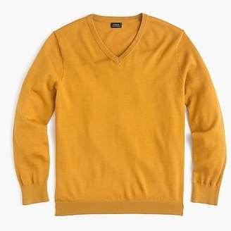 J.Crew Tall Italian merino wool V-neck sweater