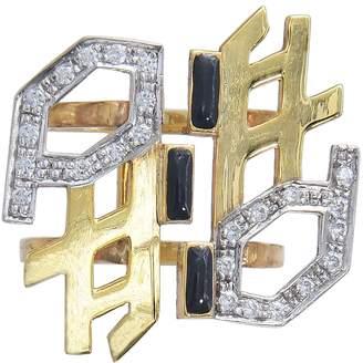 Manka - Pepper Gold GeomeTree Ring