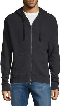 Zadig & Voltaire Men's Mikke Full-Zip Cotton Hoodie
