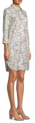 Max Mara Floral-Print Shirt Dress