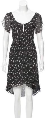 Band Of Outsiders Printed Knee-Length Dress
