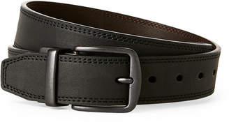 Levi's Black & Brown Reversible Tonal Stitch Belt