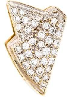 14K Diamond Slide Pendant