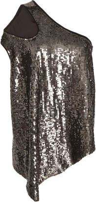 Monse Shifted Sequin Tank