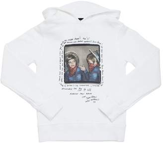 DSQUARED2 Printed Cotton Sweatshirt For Lvr