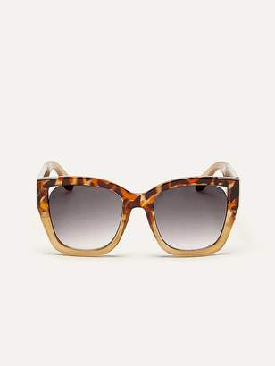 Oversized Turtoise Sunglasses