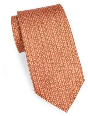 Salvatore Ferragamo Multi Gancini Silk Tie