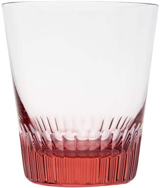 Moser - Conus Double Old Fashioned Tumbler - Cut Grooves - Rosalin