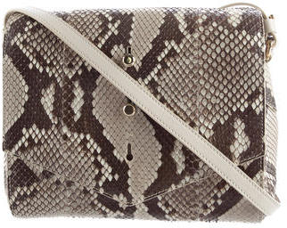 Thakoon 2015 Python Downing Crossbody Bag