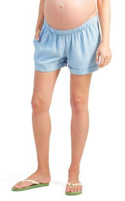 Ingrid & Isabel R) Under Belly Elastic Waist Shorts