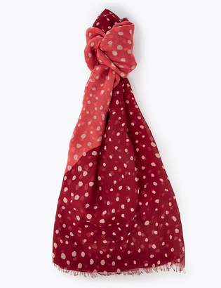 Marks and Spencer Polka Dot Scarf