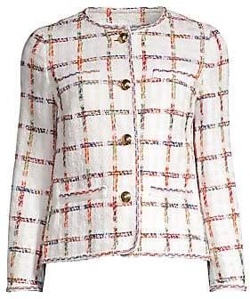Escada Women's Barha Rainbow Tweed Jacket