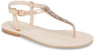 Ruby & Bloom Noe Glitter T-Strap Sandal Sandal