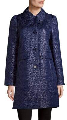 Daisy Quilted Coat
