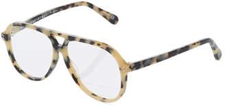 Stella McCartney Aviator Tortoise Acetate Optical Glasses