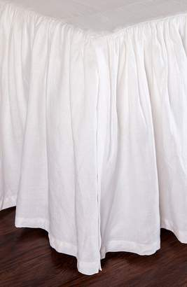 Pom Pom at Home Gathered Linen Bed Skirt