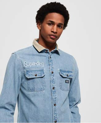 Superdry Worker Long Sleeve Shirt