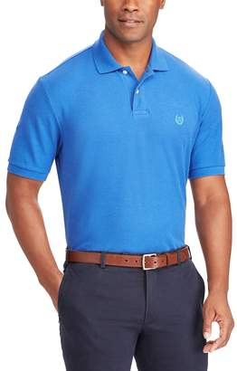 Chaps Big & Tall Classic-Fit Mesh Polo