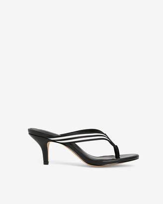 Express Stripe Kitten Heel Sandals