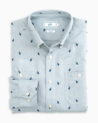 Southern Tide 99 Bottles Performance Dock Shirt