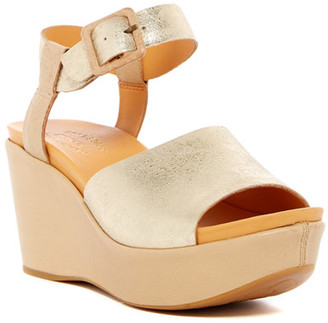 Kork-Ease Keirn Platform Wedge Sandal $145 thestylecure.com