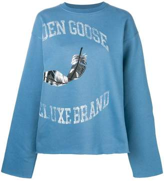 Golden Goose feather logo sweatshirt