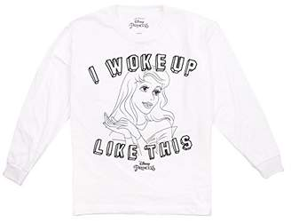 Disney Princess Girl's Woke Up Long Sleeve Top