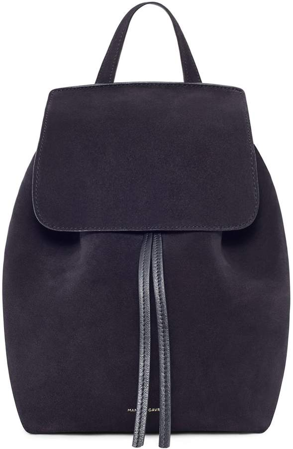 Mansur Gavriel Suede Mini Backpack