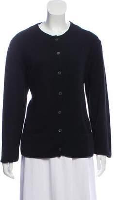 Chanel Cashmere-Blend Cardigan Black Cashmere-Blend Cardigan
