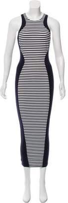 Ronny Kobo Paneled Maxi Dress