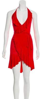 Mara Hoffman Halter Mini Dress