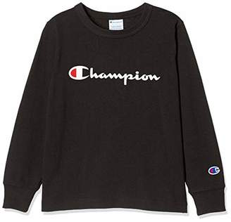 Champion (チャンピオン) - [チャンピオン] ロングスリーブTシャツ CS4991 ブラック 日本 100 (日本サイズ100 相当)