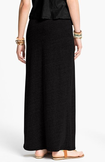 Hip Tri-Blend Knit Maxi Skirt (Juniors)