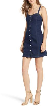 KENDALL + KYLIE Denim Body-Con Dress