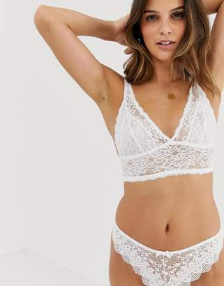 Dorina Lana lace bralette in white 92571cbc7